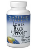 Lower Back Support 120 Tablets