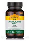 L-Phenylalanine Caps 500 mg with B-6 60 Vegetarian Capsules