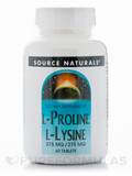 L-Proline L-Lysine 275 mg 60 Tablets