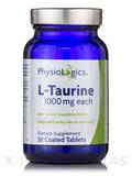 L-Taurine 1000 mg 50 Vegetarian Tablets
