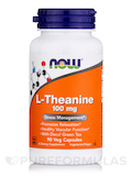 L-Theanine 100 mg - 90 Veg Capsules