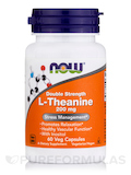 L-Theanine 200 mg (Double Strength) - 60 Veg Capsules
