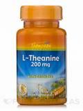 L-Theanine 200 mg - 30 Vegetarian Capsules