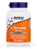 L-Tyrosine 500 mg - 120 Capsules