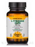L-Tyrosine 500 mg with B-6 50 Vegetarian Capsules
