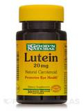 Lutein 20 mg (Natural Carotenoid) 30 Softgels