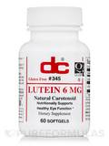 Lutein 6 mg 60 Softgels