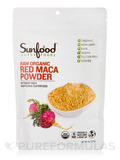 Red Maca Powder, Organic, Raw - 8 oz (227 Grams)
