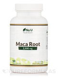 Maca Root 2,500 mg - 180 Vegan Capsules