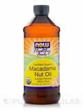 Organic Macadamia Nut Oil 16 oz (473 ml)