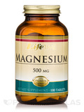 Magnesium 500 mg - 100 Tablets