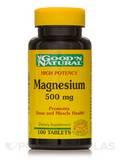 Magnesium 500 mg (Magnesium Oxide) 100 Tablets