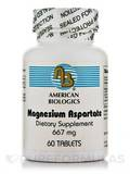 Magnesium Aspartate 667 mg 60 Tablets