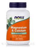 Magnesium & Calcium 2:1 ratio - 100 Tablets
