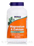 Magnesium & Calcium (Reverse 2:1 Ratio) - 250 Tablets