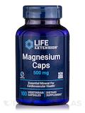 Magnesium Caps 500 mg - 100 vegetarian Capsules