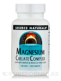 Magnesium Chelate 100 mg - 100 Tablets