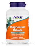 Magnesium Citrate 120 Vegetarian Capsules
