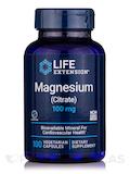 Magnesium (Citrate) 160 mg - 100 Vegetarian Capsules