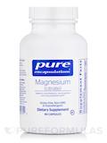 Magnesium (Citrate) - 90 Capsules