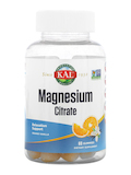 Magnesium Citrate, Orange Vanilla Flavor - 60 Gummies