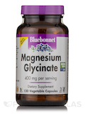 Magnesium Glycinate - 120 Vegetable Capsules