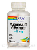Magnesium Glycinate 400 mg - 120 Vegetarian Capsules