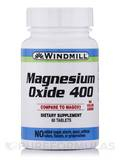 Magnesium Oxide 400 mg 60 Tablets