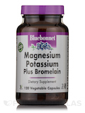 Magnesium Potassium Plus Bromelain - 120 Vegetable Capsules