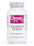 Magnesium Taurate - 180 Vegetarian Capsules