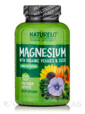 Magnesium with Organic Veggies & Seeds - 120 Vegetarian Capsules