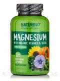 Magnesium with Organic Veggies & Seeds - 120 Vegetarian Capsules