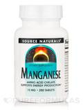 Manganese Chelated 15 mg - 250 Tablets