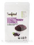 Maqui Berry Powder, Raw Organic - 4 oz (113 Grams)