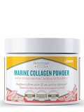 Marine Collagen Powder with Hyaluronic Acid & Vitamin C, Lemon Flavor - 3.03 oz (86 Grams)