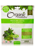 Matcha Latte with Probiotics - 5.3 oz (150 Grams)