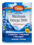 Maximum Omega 2000, Natural Lemon Flavor (Blister Packs) - 30 Soft Gels