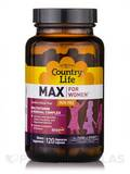 Max for Women (Iron Free) - 120 Vegetarian Capsules