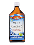 MCT & Omega-3, Natural Lemon-Lime Flavor - 16.9 fl. oz (500 ml)