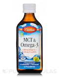 MCT & Omega-3, Natural Lemon-Lime Flavor - 6.7 fl. oz (200 ml)