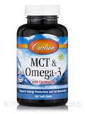 MCT & Omega-3 with Coconut Oil - 60 Soft Gels