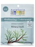Meditating Cedarwood Aromatherapy Mineral Bath (Meditation) 2.5 oz (70.9 Grams)