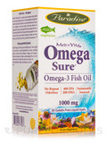 MedVita Omega-Sure Fish Oil 1000 mg - 60 Vegetarian Capsules