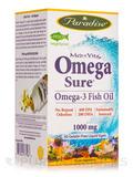 Omega Sure® Fish Oil - 60 Pesco Vegetarian Capsules