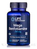 Mega Benfotiamine 250 mg - 120 Vegetarian Capsules