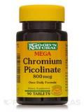 Mega Chromium Picolinate 800 mcg (Yeast Free) - 90 Tablets