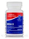 Mega D 1,000 IU 100 Softgels
