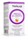 Mega D3 Dots 5000 IU 100 Tablets