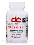 Mega MSM - 60 Vegetable Tablets