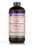 Liquid Mega MultiVitamins & Minerals 16 oz